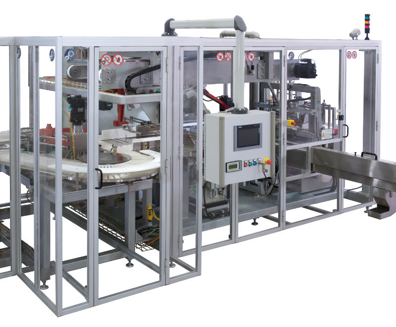 SB40 GO Series A3 - Stacking & Bagging