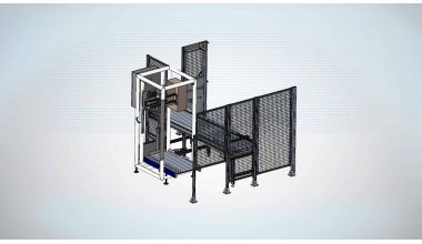Tube Tray Lift & Rotate cell