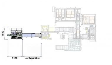 Tube Leak Test cell - Tube Tray Handling