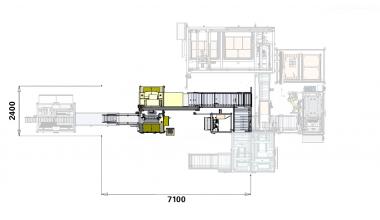 Tube Tray Lift & Rotate cell - Tube Tray Handling
