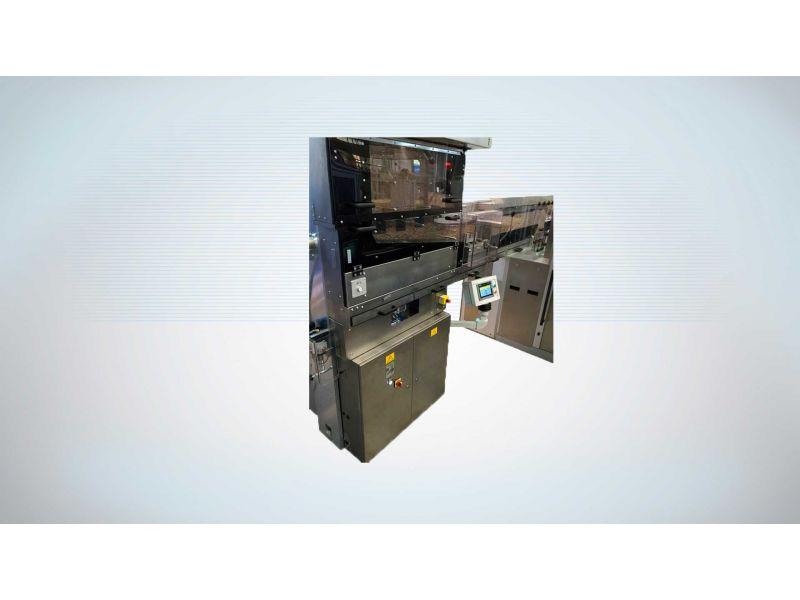 MTU 4 Tray Unloader - Cigarette Packing