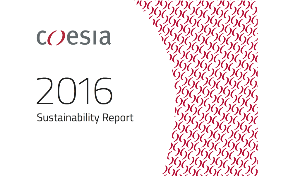 Coesia Sustainability Report 2016 is online